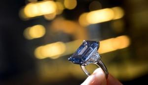 الماس آبی گرانقیمت ترین جواهر جهان