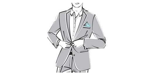 انتخاب کت و شلوار با توجه به فرم بدن