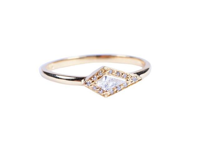 حلقه های نامزدی مینیمال برای زوج های جوان