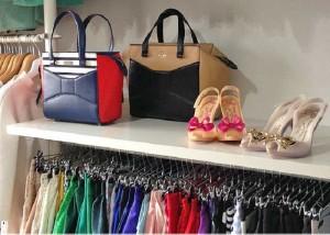 چگونه کمد لباس هایتان را مرتب کنید