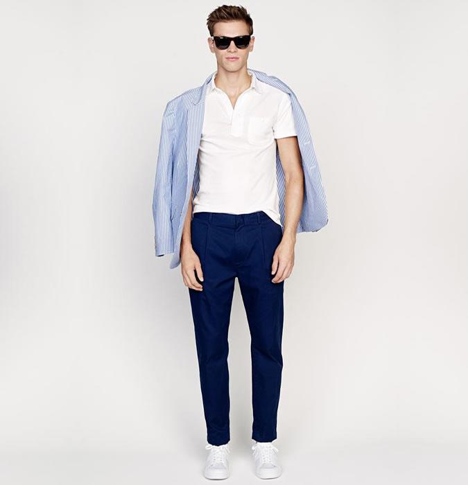 چگونه لباس راه راه مردانه بپوشیم؟