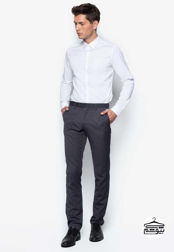 لباس مناسب مردان لاغر