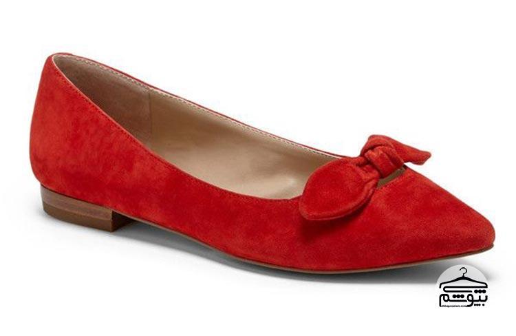 ست کردن کفش قرمز در مکانهای رسمی