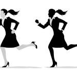 چگونه با کفش پاشنه بلند بدوید