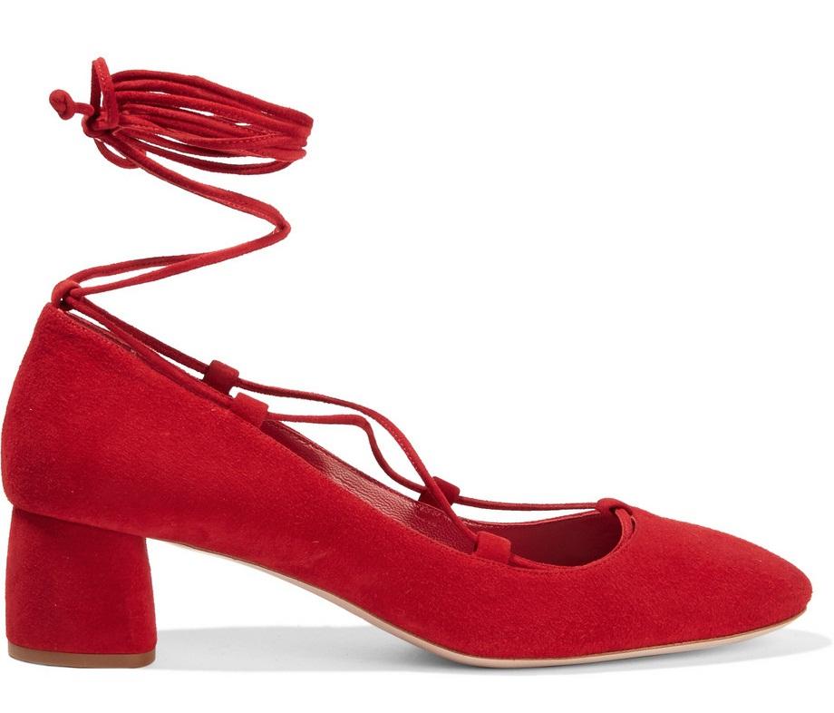 چگونه کفش قرمز بپوشم؟