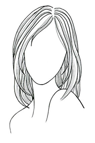 بهترین مدل موی زنانه با توجه به فرم صورت و جنس مو