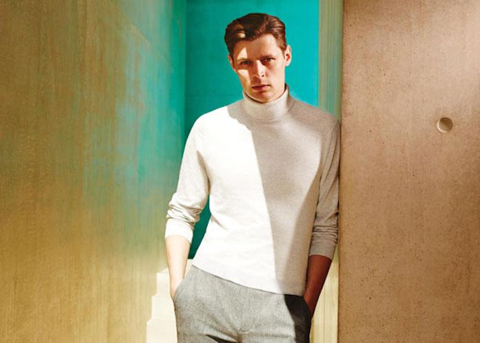 اصول ست کردن پیراهن یقه اسکی مردانه