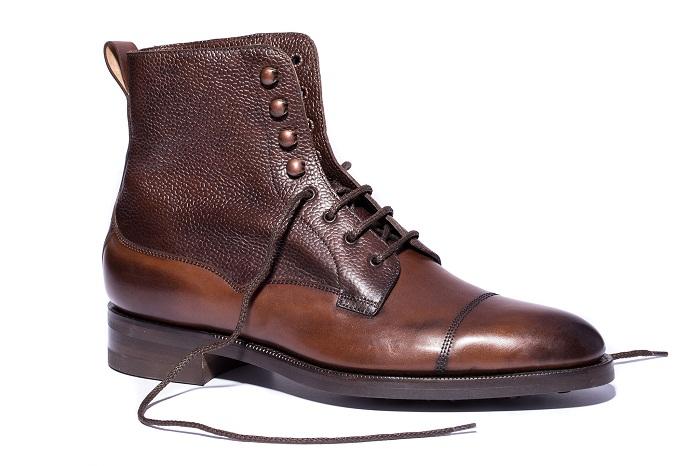 چگونه کفش چرم خیس شده را خشک کنیم؟