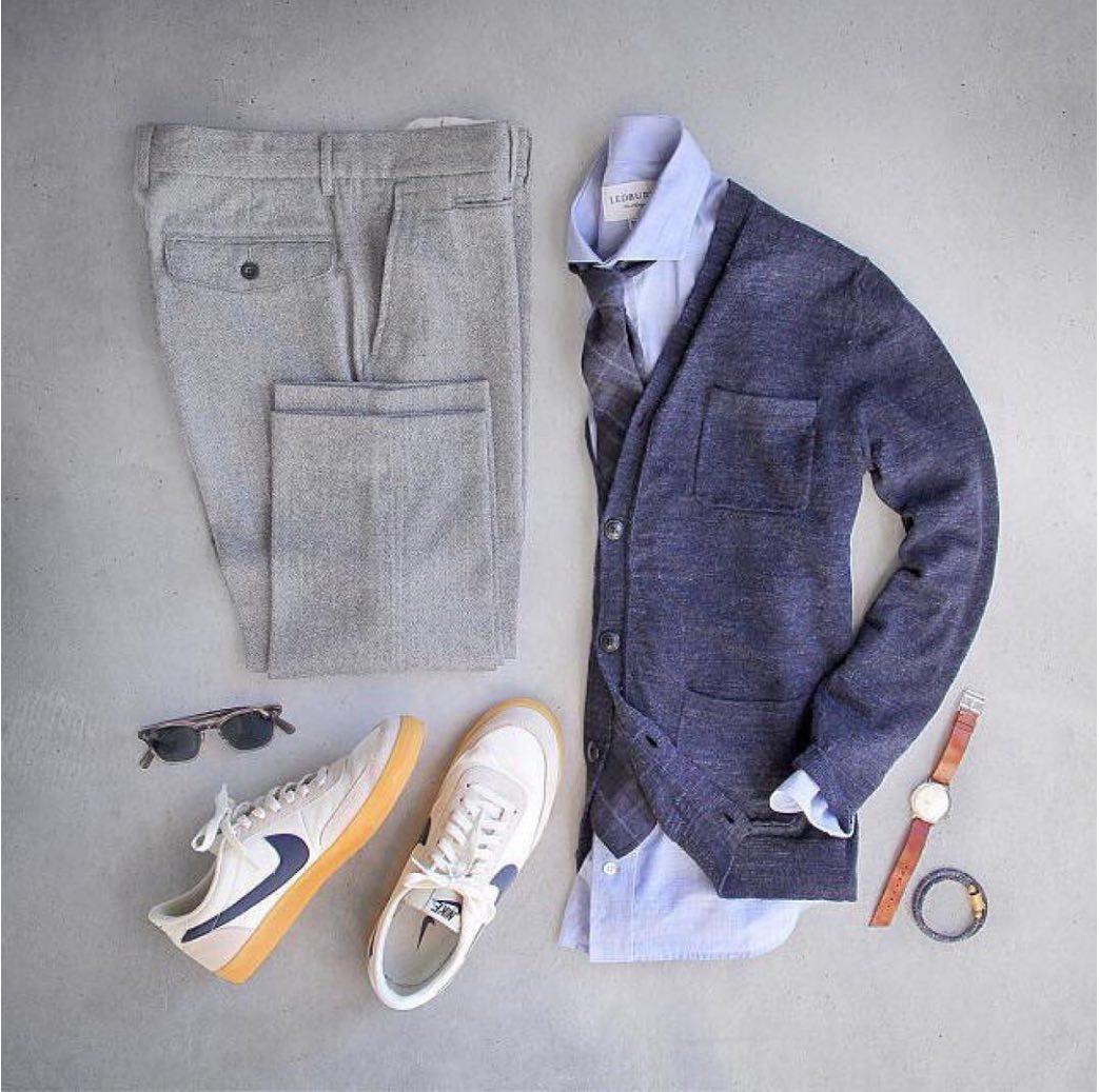 اصول پوشیدن ژاکت مردانه