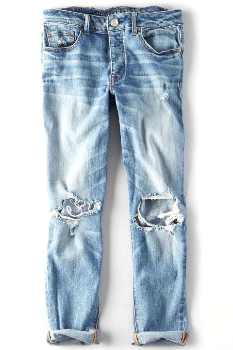 ۱۰ تصوری که خانم ها حین خرید شلوار جین دارند