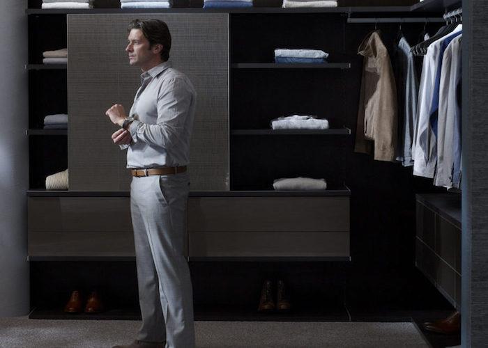 اصول مرتب کردن کمد لباس آقایان