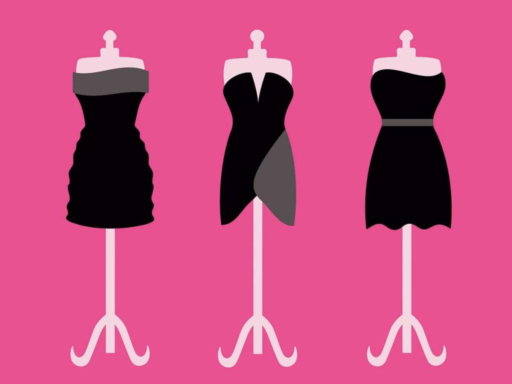 اصول انتخاب لباس مجلسی با توجه به فرم بدن