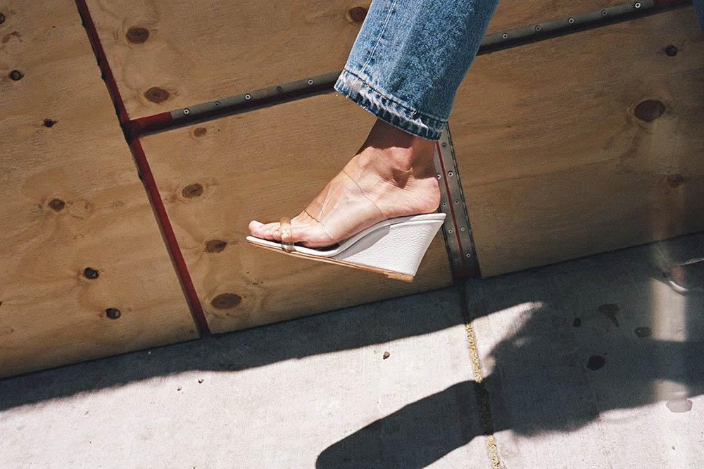 کفش های شفاف، مدل جدید تابستان