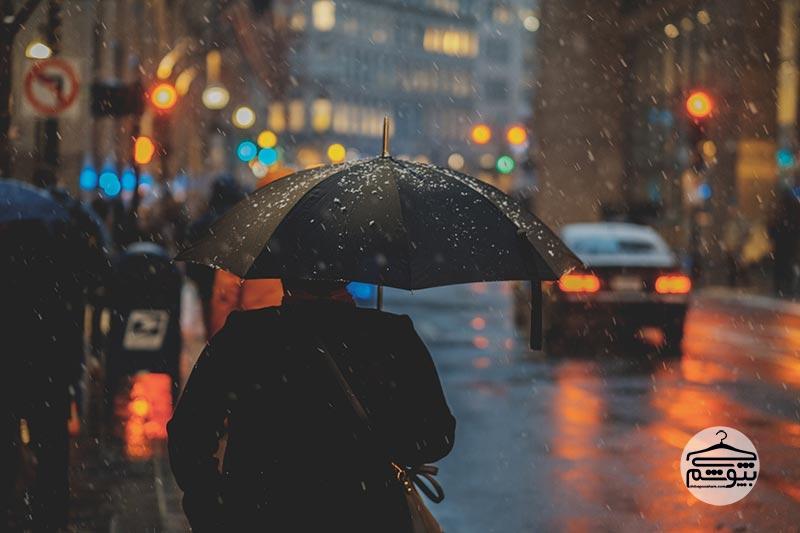 در ابتدا به مکانیزم باز شدن چتر توجه کنید