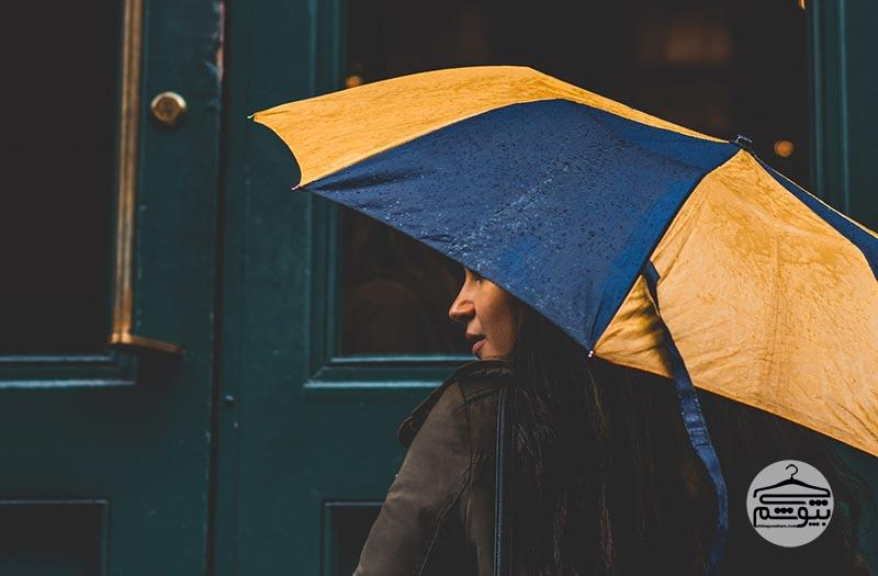 سپس مکانیزم کنترل باد توسط چتر را در نظر بگیرید