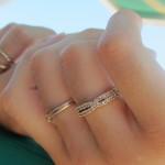 مفهوم انگشتر در انگشتان دست