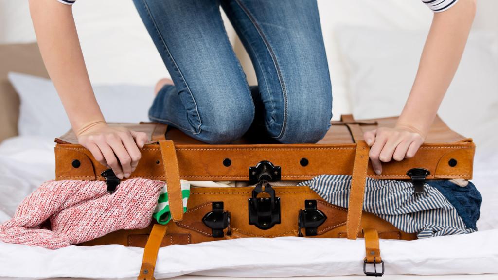 بهترین روش برای بستن چمدان سفر