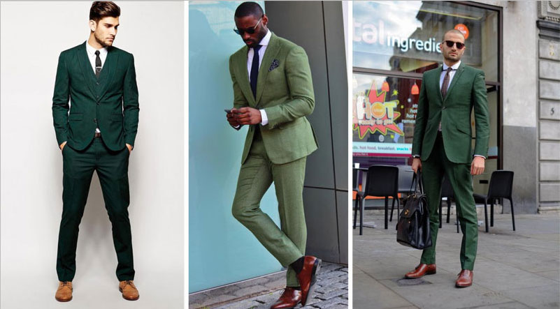What Color Shoes Goes With A Blue Suit