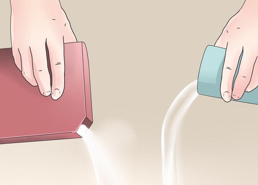 پاک کردن لکه سس خردل
