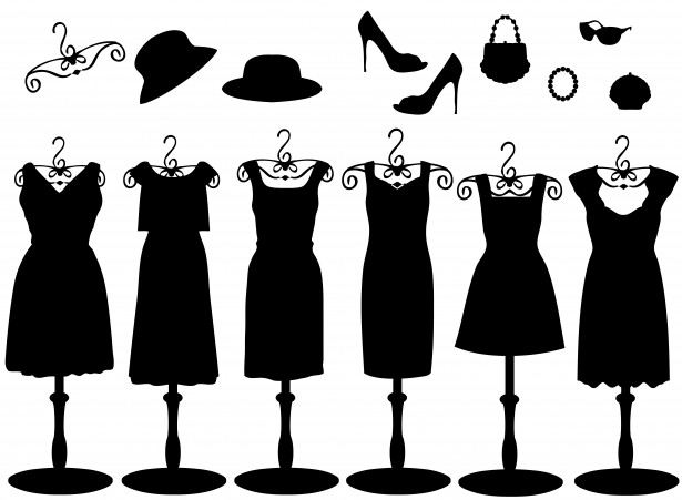 نحوه پوشیدن لباس مشکی زنانه
