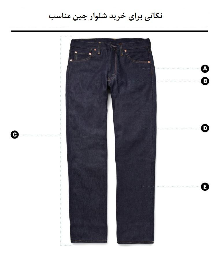 نکاتی برای خرید شلوار جین مناسب