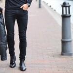 اصول ست کردن شلوار جین مشکی و کفش