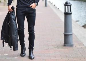 اصول ست کردن شلوار جین مشکی و لباس