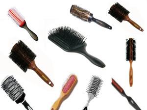 انواع برس مو