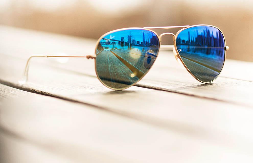 عینک خلبانی آینه ای، انتخاب خانم های خوش تیپ