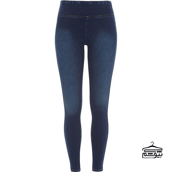 شلوار لگ از جنس جین