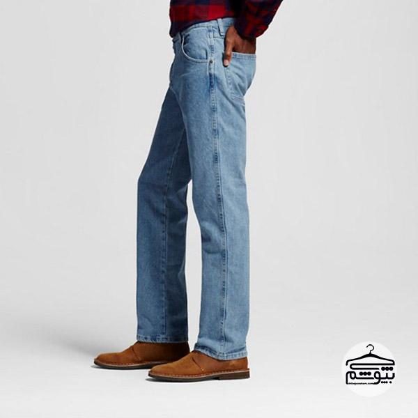 انواع شلوار جین -شلوار جین راحت