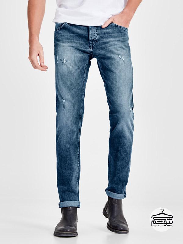 انواع شلوار جین ، شلوار جین راسته