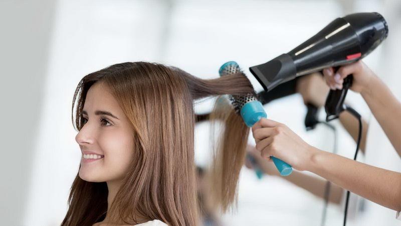 بهترین روش برای خشک کردن مو