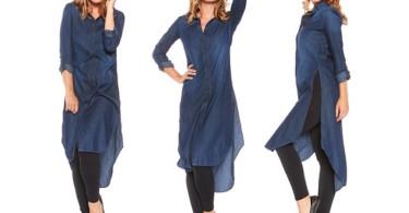 لباس مجلسی جین مخصوص بانوان