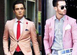آقایان از پوشیدن لباس صورتی خجالت نکشید!