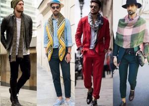 معرفی چند تیپ مردانه با شال گردن