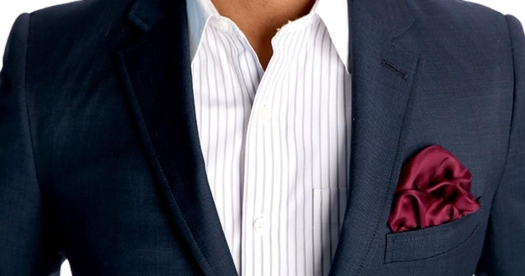 چند روش جدید تا زدن دستمال جیبی