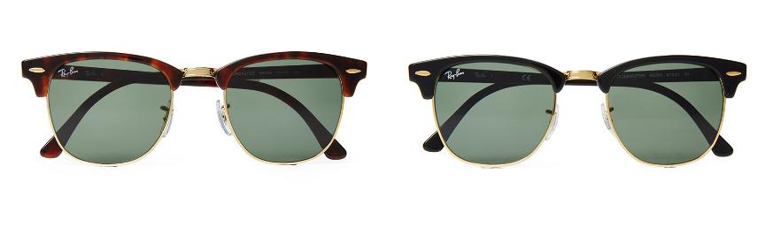 مدل های مختلف عینک آفتابی برند Ray-Ban را بشناسید