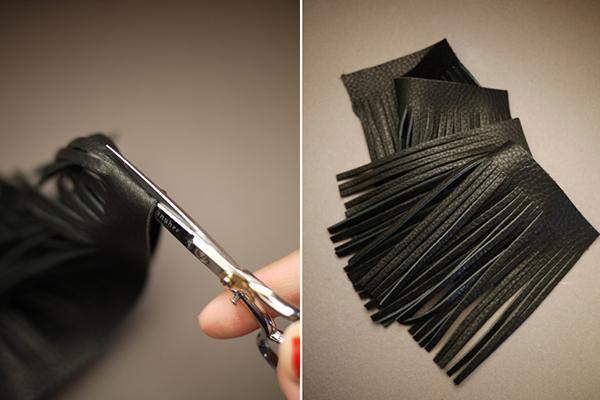 چطور آویز چرمی کیف بسازید؟