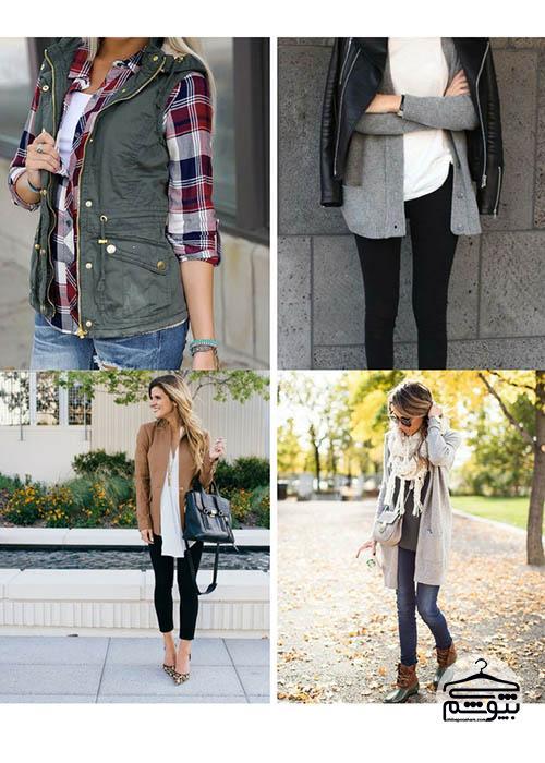 نکاتی برای روی هم پوشیدن لباسها