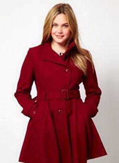 لباسهای زمستانی برای خانمهای چاق
