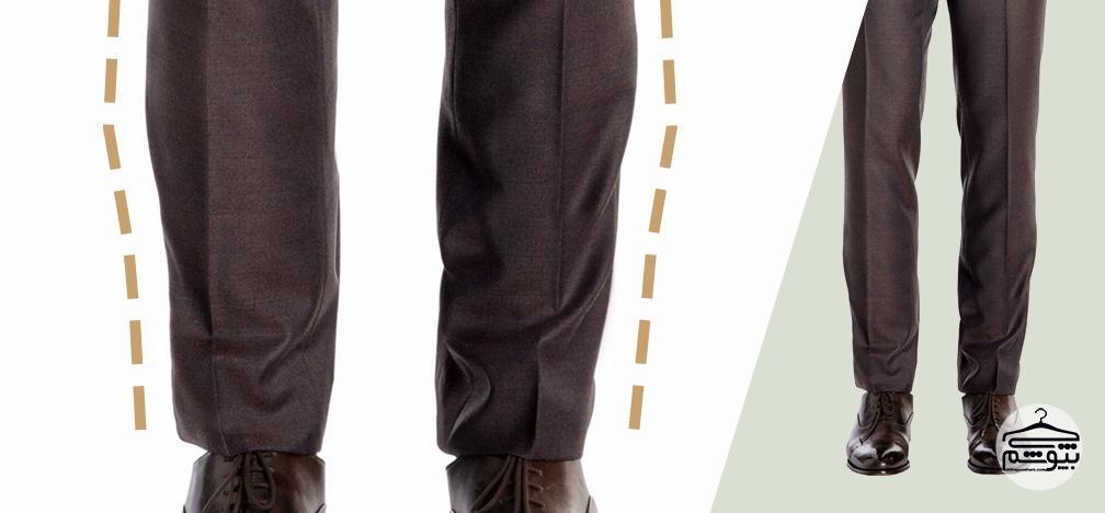 بررسی اندازه بودن کت و شلوار مردانه
