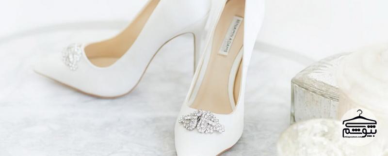 راهنمای انتخاب کفش مناسب برای عروس