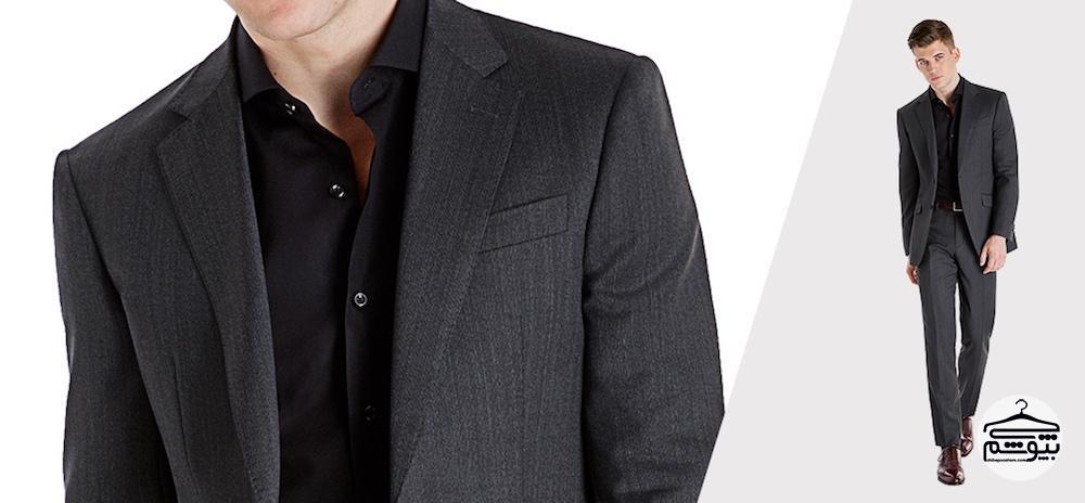 راه و رسم ست کردن پیراهن مشکی مردانه