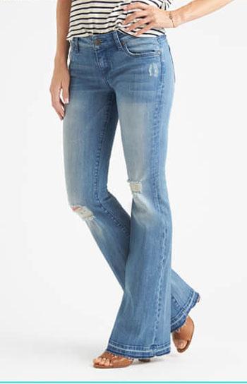 طول پاچه شلوار جین چقدر باید باشد؟