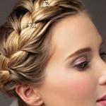 پیشنهادهایی برای بافت مو برای عروس