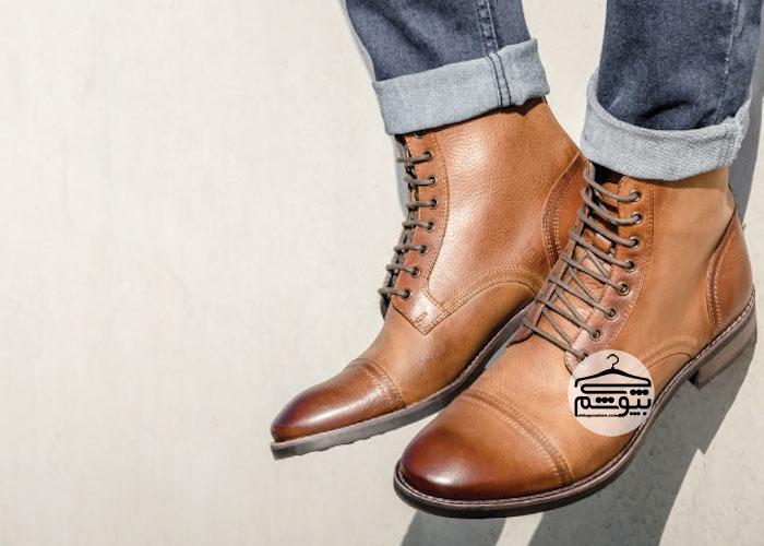 مدل کفش ساق دار مردانهچند مدل کفش ساق دار مردانه