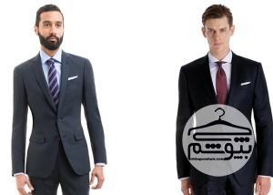 اصول انتخاب کت و شلوار آبی رنگ