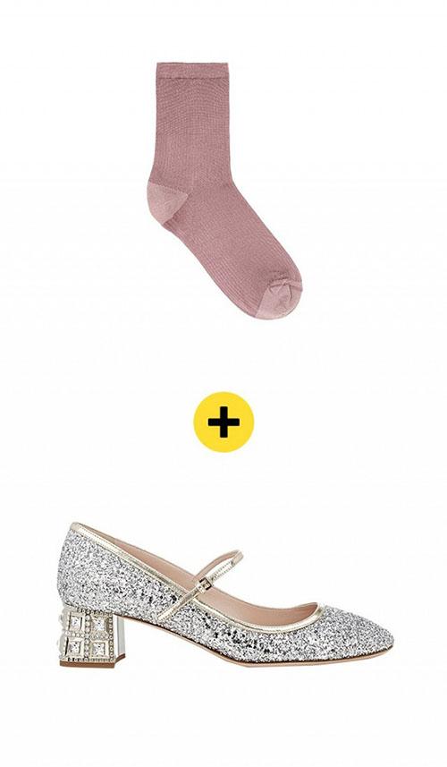 هر کفشی را با کدام جوراب بپوشم