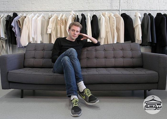 جی دبلیو اندرسون طراح لباس ایرلندی
